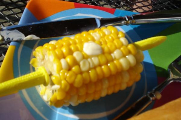 Yummy corn.