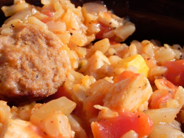 Not So Authentic Jambalaya... but still delicious! thepajamachef.com