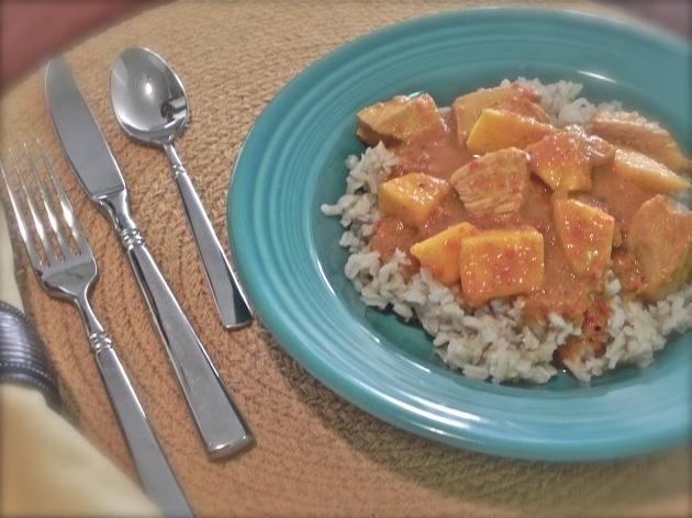Mango Chicken Curry | thepajamachef.com