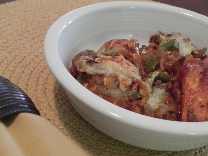 Taco Casserole: a delicious dinner! {thepajamachef.com}