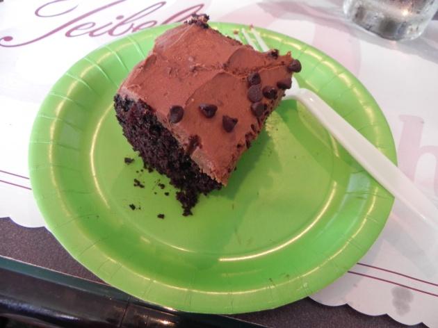 Chocolate Cake & Frosting | this chocolate cake changes everything! {thepajamachef.com}