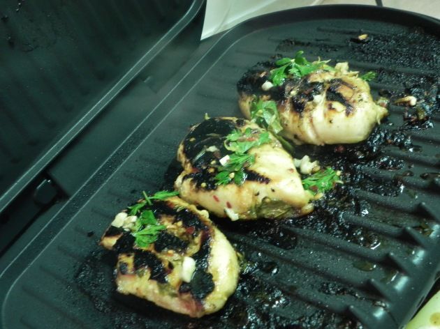 Lemon-Herb Grilled Chicken - an easy summertime recipe | thepajamachef.com