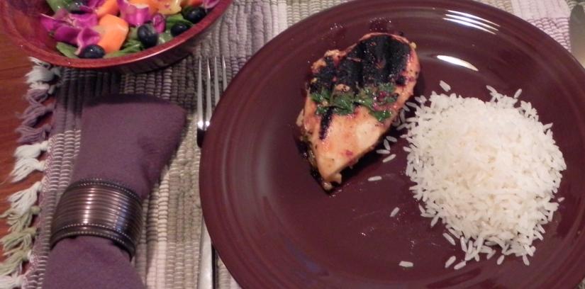 Lemon-Herb Grilled Chicken - an easy summertime recipe | thepajamachef.com