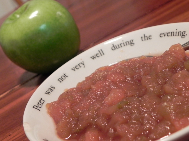 Crock Pot Chunky Applesauce - easy, homemade, healthy, & delicious