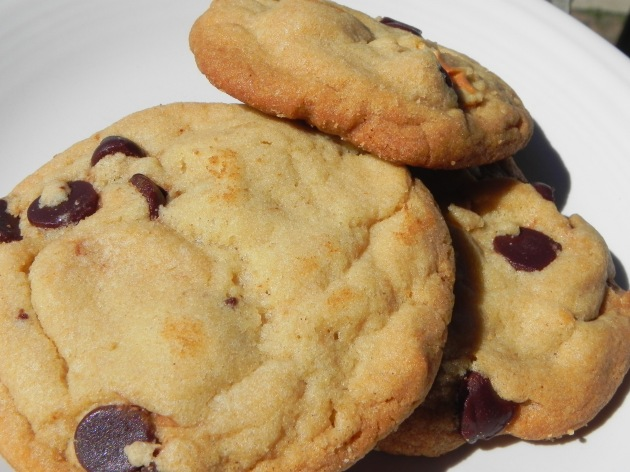 Crispy Crunchy Chocolate Chip Cookies... these cookies taste great fresh or are a treat right out of the freezer too!