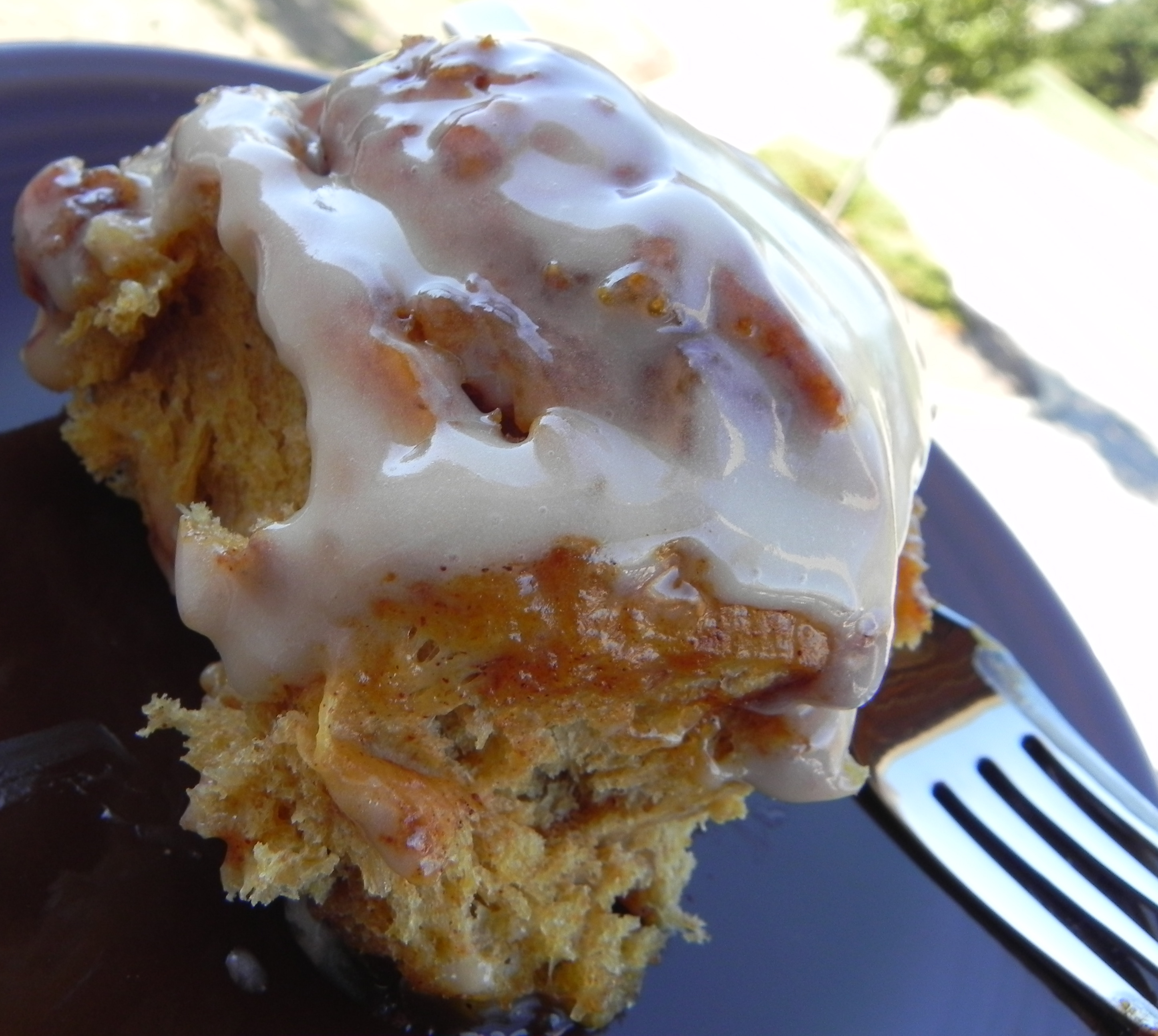 Pumpkin Cinnamon Rolls Recipe — Dishmaps