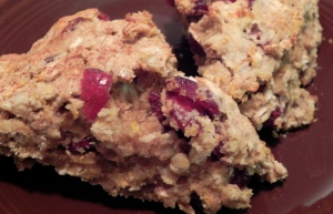 Cran-Tan-Oat Scones
