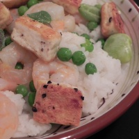 You, Too, Can Like… Tofu! In Tofu Shrimp Bowls, that is.