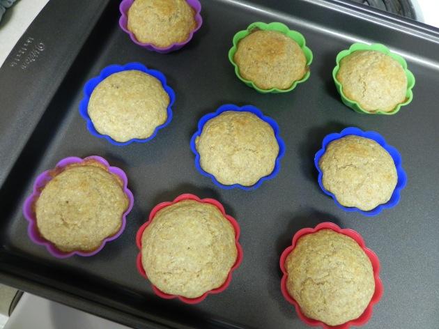 Whole-Wheat Corn Bread Muffins via thepajamachef.com