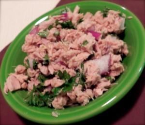 Mediterranean Tuna Salad from Ellie Krieger's cookbook So Easy
