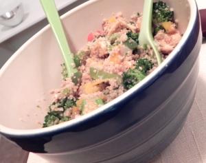 Balsamic-Honey Couscous Salad