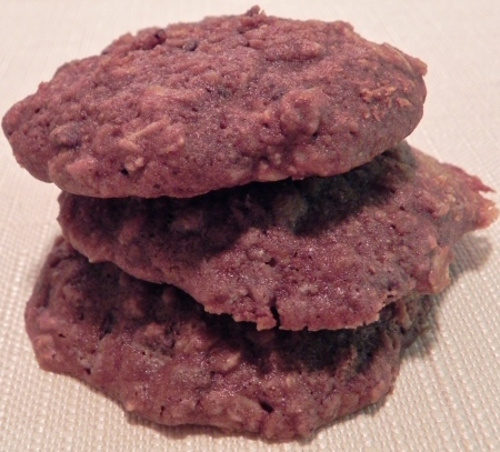 Triple Chocolate Oat Cookies via thepajamachef.com