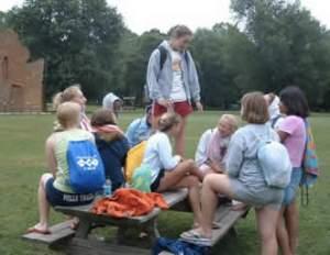 me at camp