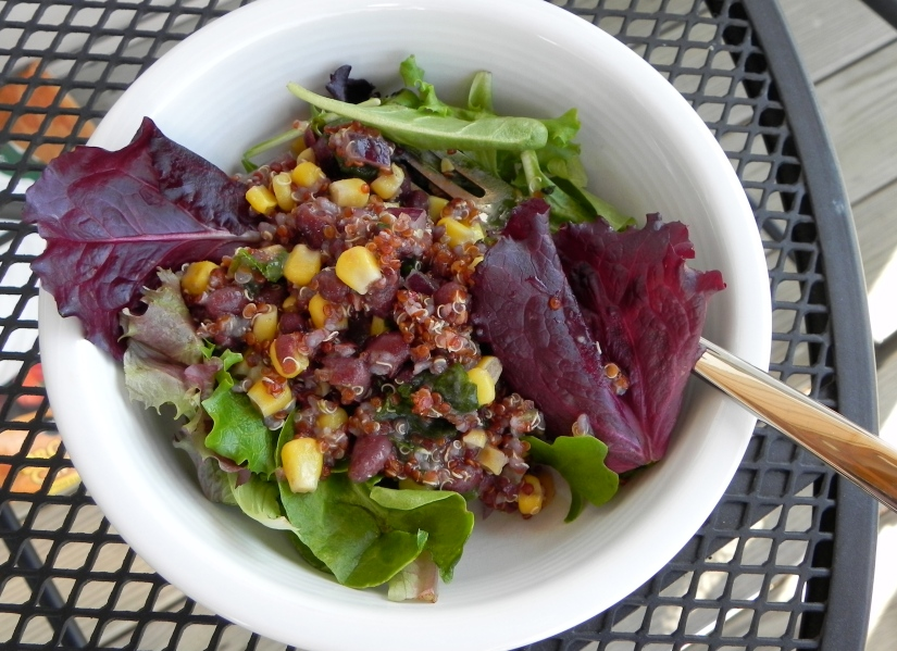 Black Bean + Corn Quinoa Salad | The Pajama Chef