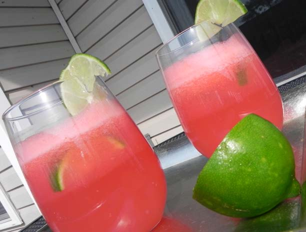 Watermelon Coolers | thepajamachef.com