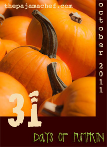 31 days of pumpkin