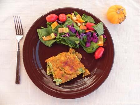 Pumpkin, Sausage, and Spinach Lasagna - thepajamachef.com