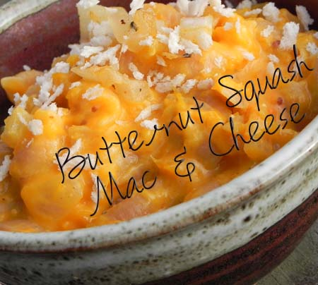 Butternut Squash Mac & Cheese | thepajamachef.com