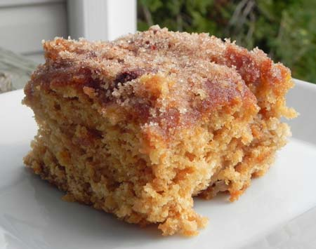 Cinnamon Sugar Apple Cake | thepajamachef.com