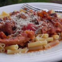 Crockpot Saucy Italian Chicken