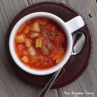 Spicy Sausage, Chicken, and Bean Stew