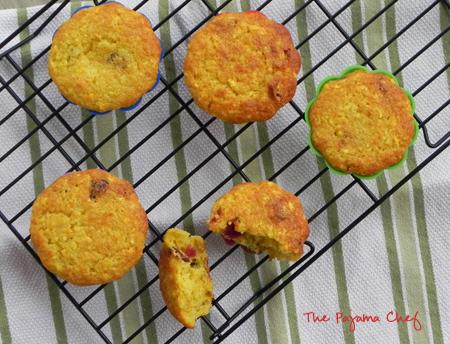 Sunrise Muffins | thepajamachef.com