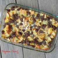 Sausage, Apple, and Egg Casserole