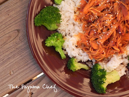Honey Sesame Chicken | thepajamachef.com