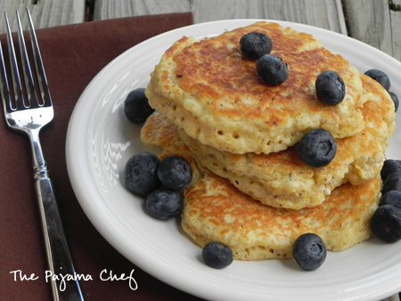 Nutty and full of protein, these quinoa pancakes are sure to be a yummy (and nutritious) way to start your morning!