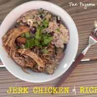 Jamaican Jerk Chicken & Pineapple Black Bean Rice