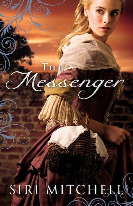 cover for The Messenger by Siri Mitchell