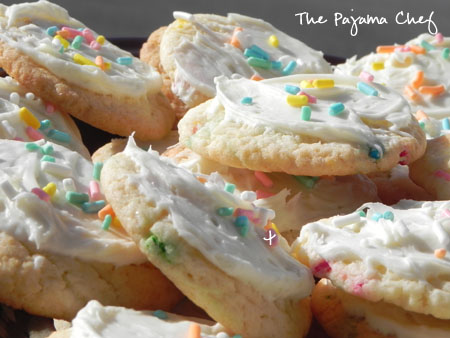 Funfetti Cookies | thepajamachef.com