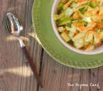 Minty Asian Slaw | thepajamachef #secretrecipeclub