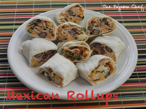 Mexican Rollups | The Pajama Chef