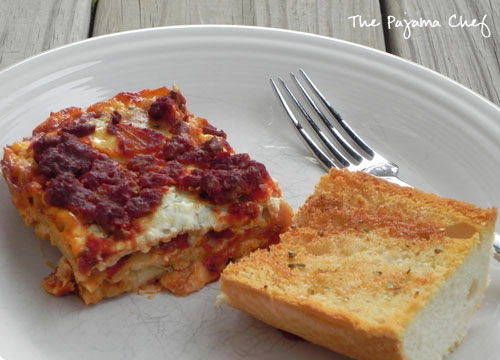 Mom's Lasagna | The Pajama Chef