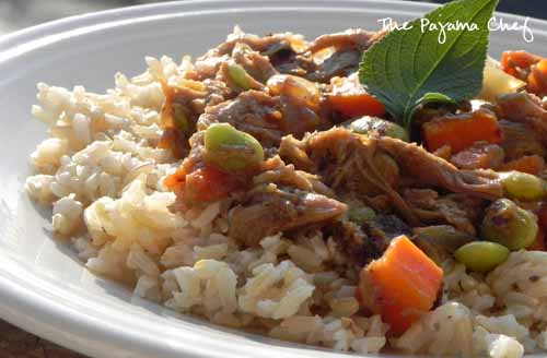 Pork, Apple, and Ginger Stir Fry | The Pajama Chef