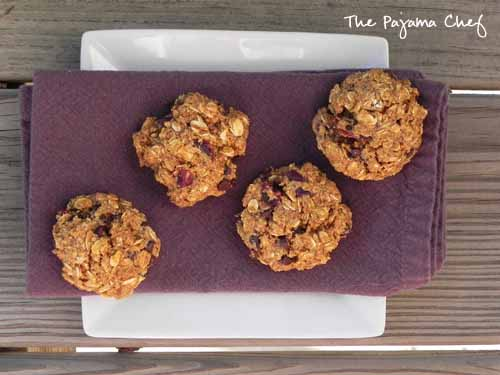 Pumpkin Oatmeal Cookies   The Pajama Chef
