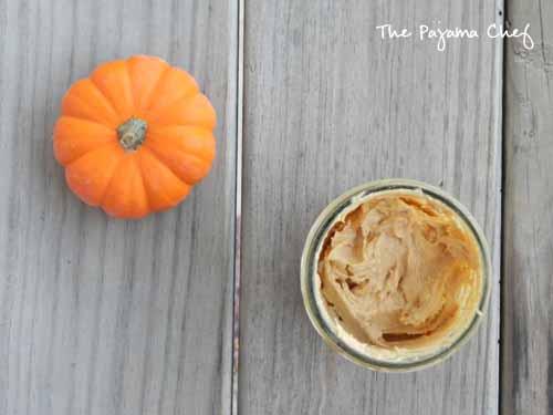 Pumpkin Spice Cream Cheese | The Pajama Chef