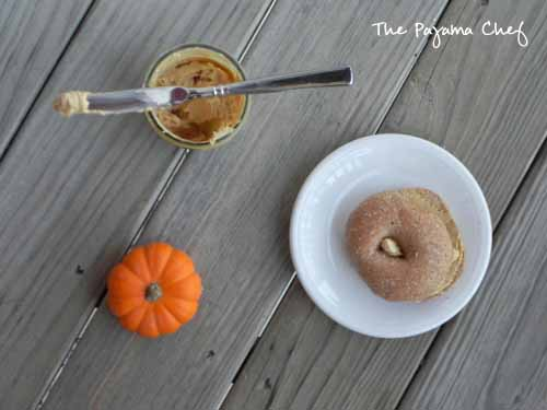 Pumpkin Spice Cream Cheese | The Pajama Chef