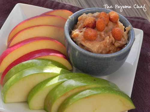 Caramel Apple Dip   The Pajama Chef