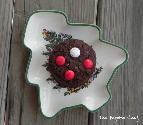 White Chocolate Peppermint M&M Cookies   The Pajama Chef