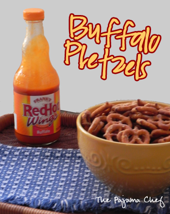 Buffalo Pretzels | The Pajama Chef