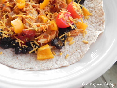 Chicken Tinga Tacos | The Pajama Chef