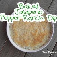 SRC: Baked Jalapeno Popper-Ranch Dip