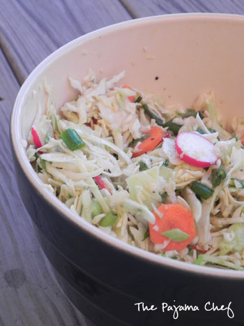 Cumin-Scented Cabbage Salad | The Pajama Chef
