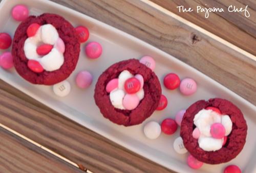 Red Velvet Marshmallow Bites | The Pajama Chef