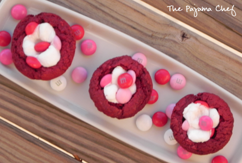 Red Velvet Marshmallow Bites | The Pajama Chef