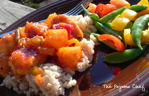 Sweet and Sour Chicken | The Pajama Chef