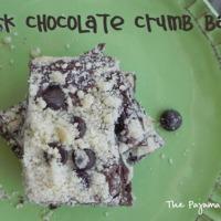 Dark Chocolate Crumb Bars