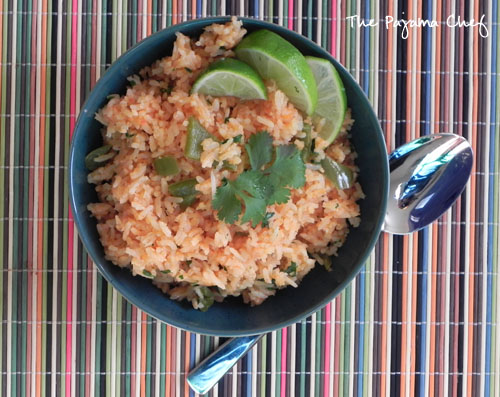 Mexican Rice | The Pajama Chef